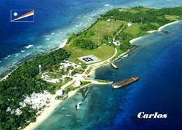 Marshall Islands Carlos Aerial View New Postcard Marshallinseln AK - Marshall Islands