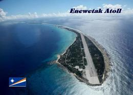 Marshall Islands Enewetak Aerial View New Postcard Marshallinseln AK - Marshall