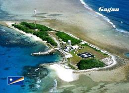 Marshall Islands Gagan Aerial View New Postcard Marshallinseln AK - Marshall Islands