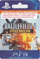 Game Card Italy PlayStation 2013 Battlefield 4 - Gift Cards