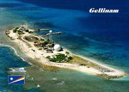 Marshall Islands Gellinam Aerial View New Postcard Marshallinseln AK - Marshall Islands