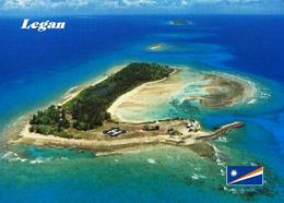 Marshall Islands Legan Aerial View New Postcard Marshallinseln AK - Marshall Islands