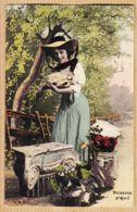 Cpfete 286 Premier 1er AVRIL Poissons 1910s I.R.N - 1er Avril - Poisson D'avril