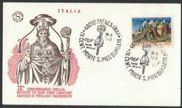 IN123   Italia - 1972 FAENZA (Ravenna) IX Centenario Morte SAN PIER DAMIANI - Cristianesimo
