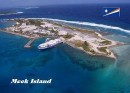 Marshall Islands Meck Aerial View New Postcard Marshallinseln AK - Marshall