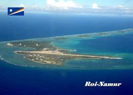 Marshall Islands Roi-Namur Aerial View New Postcard Marshallinseln AK - Marshall Islands