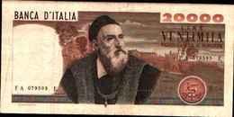 1797) SPLENDIDA BANCONOTA DA 20000 LIRE TIZIANO - [ 2] 1946-… : Repubblica
