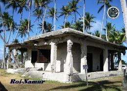 Marshall Islands Roi-Namur Bunker New Postcard Marshallinseln AK - Marshall Islands