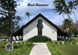 Marshall Islands Roi-Namur Chapel New Postcard Marshallinseln AK - Marshall
