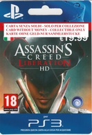Game Card Italy PlayStation 2013 Assassins Creed Liberation - Gift Cards