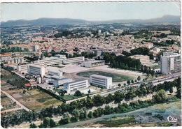 Montélimar - Vue Aérienne : Le Lycée Chabaud Et Son Stade - (26.  Drome) - 1969 - Montelimar