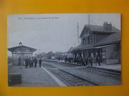 Cpa Orchies 59 (Nord) Quais De Gare - Orchies