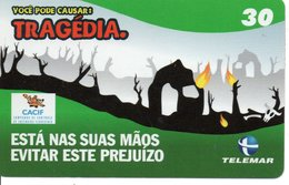 BD Pompier Fire Feu Feuerwehr Télécarte Phonecard (G 157) - Bomberos