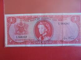 TRINIDAD And TOBAGO 1$ 1964 CIRCULER - Trinidad & Tobago
