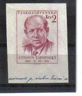POL534 TSCHECHOSLOWAKEI CSSR 1955 MICHL MARKE Aus BLOCK 15 ** Postfrisch SIEHE ABBILDUNG - Tschechoslowakei/CSSR