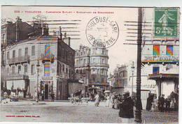 31. TOULOUSE . CARREFOUR BAYARD . BOULEVARD DE STRASBOURG . COMMERCES . ANIMEE . Editeur LABOUCHE - Toulouse