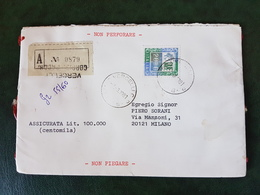(38378) STORIA POSTALE ITALIA 1981 - 6. 1946-.. Repubblica