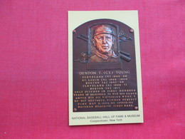 Denton T Cy Young  Baseball  Hall Of Fame Museum      Ref 3358 - Baseball