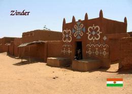 Niger Zinder Mudbrick House New Postcard - Niger