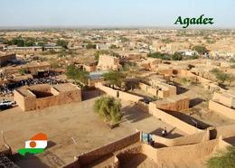 Niger Agadez Aerial View New Postcard - Niger