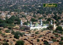 Niger Zinder Mosque Aerial View New Postcard - Niger