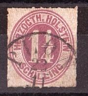 Holstein - 1865/66 - N° 11 Oblitéré - Schleswig-Holstein
