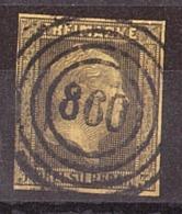 Prusse - 1850/56 - N° 5 Oblitéré 860 - Frédéric-Guillaume IV - Preussen