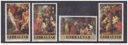Gibraltar 1977 Peter Paul Rubens / Paintings 4v ** Mnh (42767C) - Gibraltar