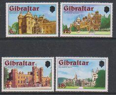 Gibraltar 1978 Coronation / Castles 4v ** Mnh (42767D) - Gibraltar