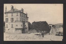 CPA. Dépt.78. MANTE-LA-JOLIE . Le Quai De La Tour ( Maison Des Cordiers ) . - Mantes La Jolie