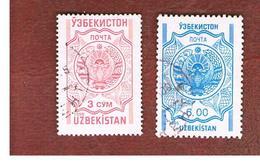 UZBEKISTAN   - SG 59.60 - 1995 STATE ARMS  -   USED - Uzbekistan