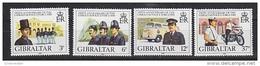 Gibraltar 1980 Gibraltar Police Force 4v ** Mnh (42767F) - Gibraltar