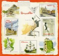 ENTIER POSTAL CAPITALE EUROPEENNE BRUXELLES. VOIR SCANS RECTO/VERSO - Kartenbriefe