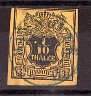 Hanovre - 1851 - N° 5 Oblitéré - Hannover