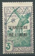 Inini  -   Yvert N° 36 *  - Bce 19702 - Inini (1932-1947)