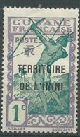 Inini  -   Yvert N° 1 *  - Bce 19705 - Inini (1932-1947)