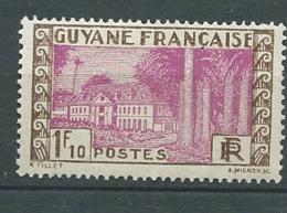 Guyane Française   -   Yvert N° 126  *  - Bce 19717 - Guyane Française (1886-1949)