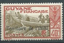 Inini  - Yvert N° 11  *    -    Bce 19721 - Inini (1932-1947)