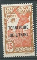 Inini  - Yvert N° 6  *    -    Bce 19724 - Inini (1932-1947)