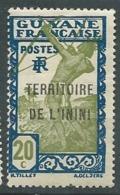 Inini  - Yvert N° 7  *    -    Bce 19725 - Inini (1932-1947)
