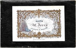 Gent  *  (Carte Porcelaine)  H. Ferry , Gand - Champagne & Bordeaux - Cartes Porcelaine