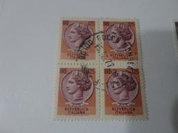 QUARTINA 125   LIRE- 1978 - 6. 1946-.. Repubblica