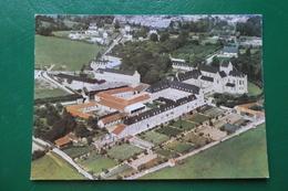 ST SAUVEUR LE VICOMTE MANCHE VUE GENERALE AERIENNE DE LABBAYE STE MARIE MADELEINE POSTEL - Saint Sauveur Le Vicomte