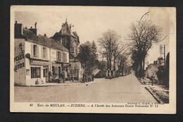 Juziers  Près De Meulan Arrêt Autocar - Canton De Limay Arrondissement De Mantes-la-Jolie CPSM Yvelines - Limay