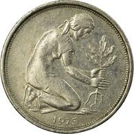 Monnaie, République Fédérale Allemande, 50 Pfennig, 1973, Hambourg, TTB - [ 7] 1949-… : RFA - Rép. Féd. D'Allemagne