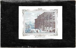 Gent  *  (Carte Porcelaine)  Hotel De Ville , Gand 1844 - Cartes Porcelaine