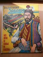 1970 PETAR PETROVIC NJEGOS MONTENEGRO COVER YUGOSLAVIA SERBIA COMIC BOOK COMICS MAGAZINE WALT DISNEY MICKEY MOUSE - Books, Magazines, Comics