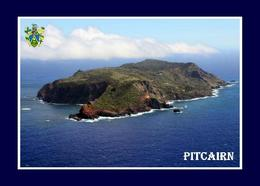 Pitcairn Island Aerial View New Postcard Pitcairninseln AK - Pitcairn