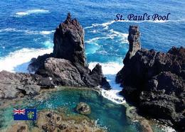 Pitcairn Island St. Paul's Pool New Postcard Pitcairninseln AK - Pitcairn Islands