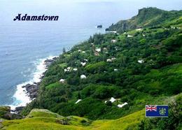 Pitcairn Island Adamstown Aerial View New Postcard Pitcairninseln AK - Pitcairn Islands